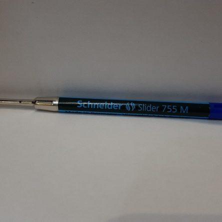 Wkład do długopisu Schneider typ 755 M niebieski